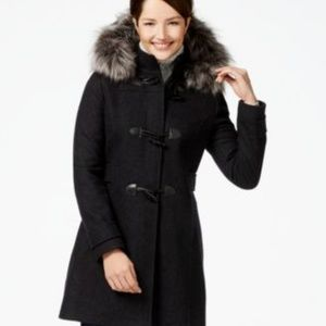 Nautica 3/4 Duffel Coat with Removable Hood
